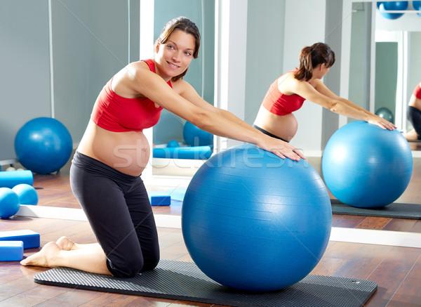 Польза фитбола для беременных 18