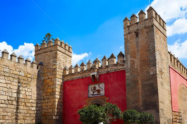 Seville Real Alcazar Sevilla Andalusia Stock photo © lunamarina