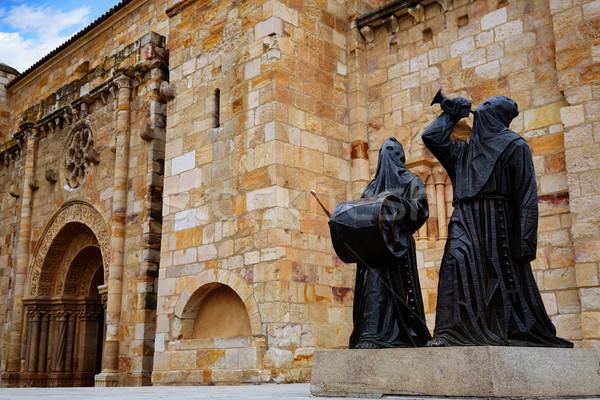 Estatua san juan iglesia viaje arquitectura religión Foto stock © lunamarina