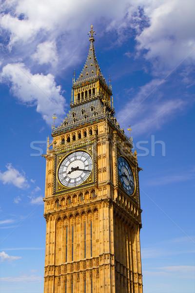 Big Ben clock torre Londra Inghilterra città Foto d'archivio © lunamarina