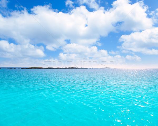 Alge turkoois middellandse zee Spanje water voorjaar Stockfoto © lunamarina
