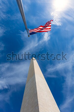 Washington Monument in District of Columbia DC Stock photo © lunamarina