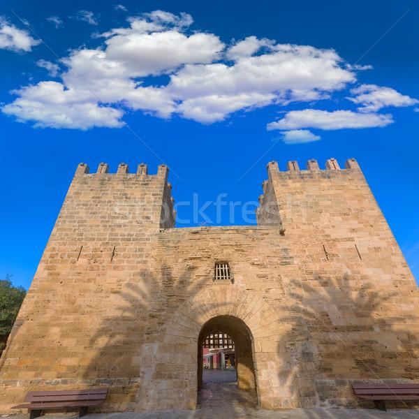 Cidade velha mallorca ilha Espanha edifício rocha Foto stock © lunamarina
