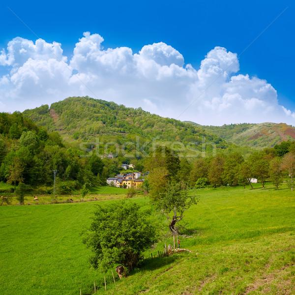 Yol aziz doğa manzara dağ dini Stok fotoğraf © lunamarina