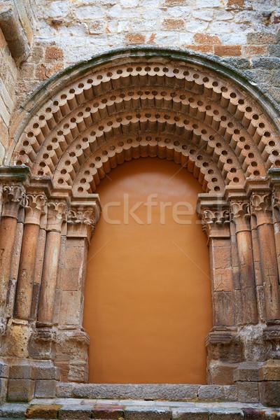 San Pedro Ildefonso church in Zamora Spain Stock photo © lunamarina
