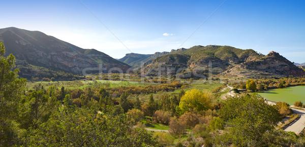 водохранилище Валенсия Испания свет фон лет Сток-фото © lunamarina