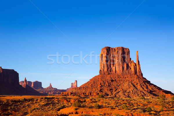 Vallei west Utah park natuur landschap Stockfoto © lunamarina