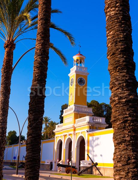 Arsenal of Cartagena Murcia XVIII century Spain Stock photo © lunamarina