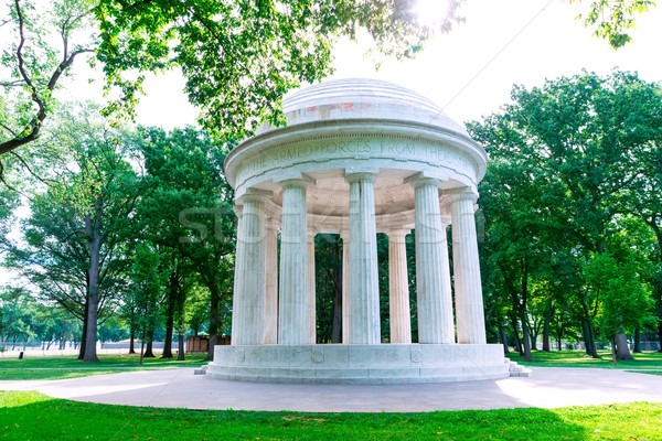 District of Columbia War Memorial Washington DC Stock photo © lunamarina