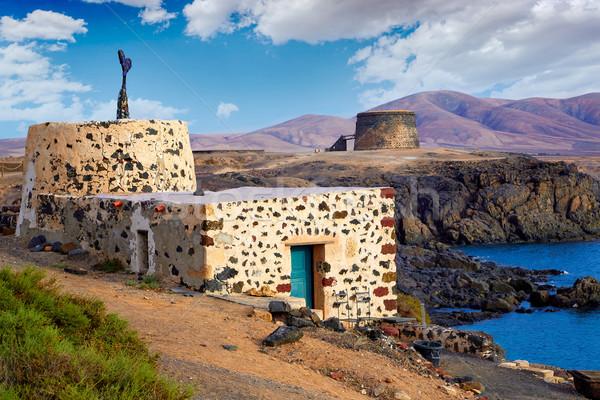 El Cotillo Fuerteventura at Canary Islands Stock photo © lunamarina