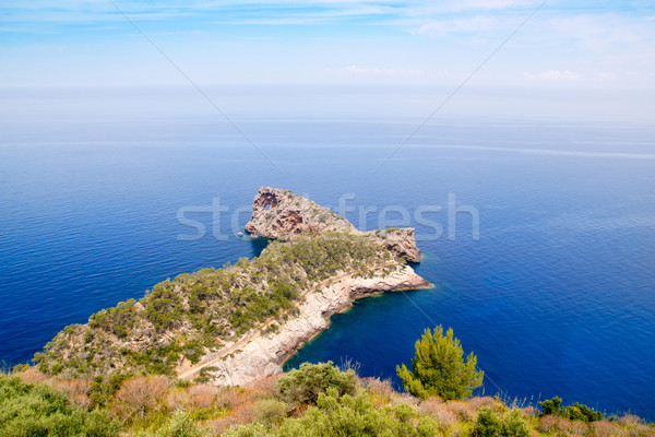 Deia Sa Foradada in mediterranean Majorca Stock photo © lunamarina