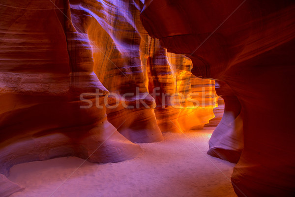 Canyon Arizona grond pagina USA natuur Stockfoto © lunamarina