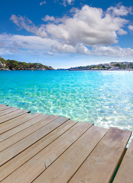 Foto stock: Praia · mallorca · ilha · convés · foto · paisagem