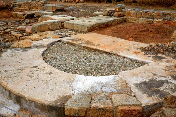 Arch roman of Caparra in Spain Extremadura Stock photo © lunamarina