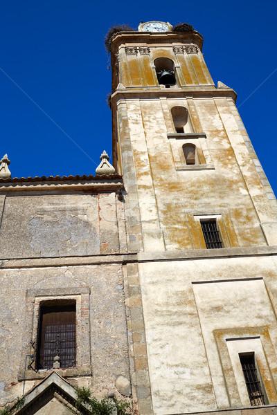 Fuente de Cantos in Extremadura of Spain Stock photo © lunamarina