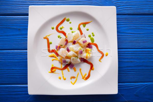 Modern gastronomi stil moleküler mutfak Stok fotoğraf © lunamarina