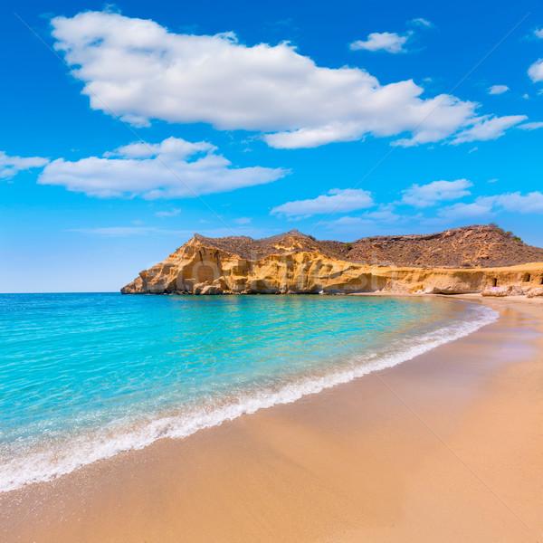 Cocedores beach in Murcia near Aguilas Spain Stock photo © lunamarina