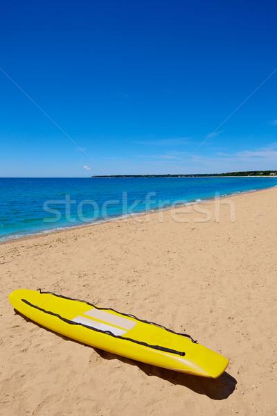 Cape cod plage Massachusetts USA eau mer Photo stock © lunamarina