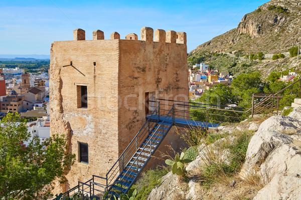 LA torony Valencia Spanyolország hegy utazás Stock fotó © lunamarina