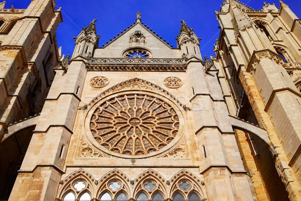 Cathédrale gothique bâtiment église architecture religion Photo stock © lunamarina