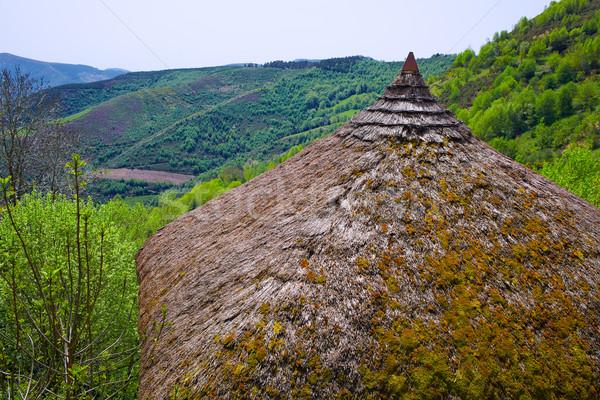 Maneira tradicional celta cabana Foto stock © lunamarina