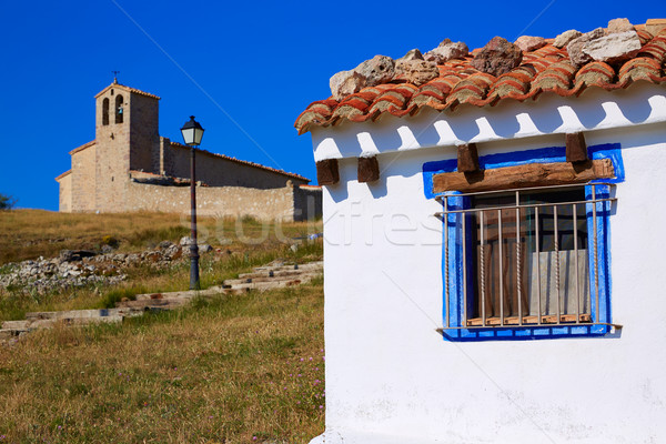 Stok fotoğraf: Köy · İspanya · şehir · mavi · ülke · tatil