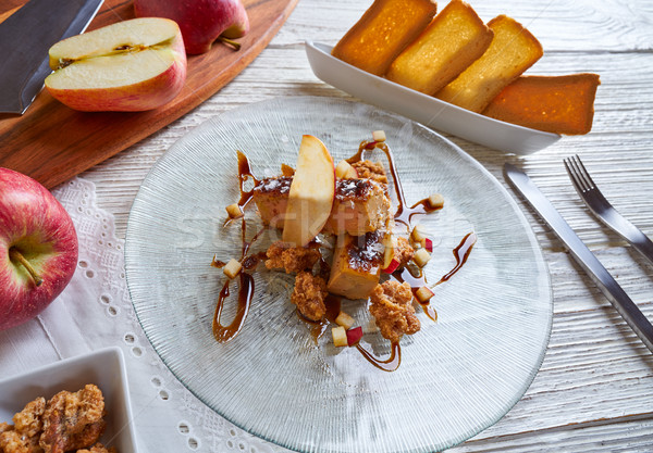 Foie gras Foie-gras micuit mi cuit Stock photo © lunamarina