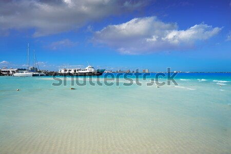Lanzarote Playa Blanca beach in Atlantic Stock photo © lunamarina
