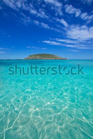 Ibiza Cala Conta Comte beach in Sant Josep Stock photo © lunamarina