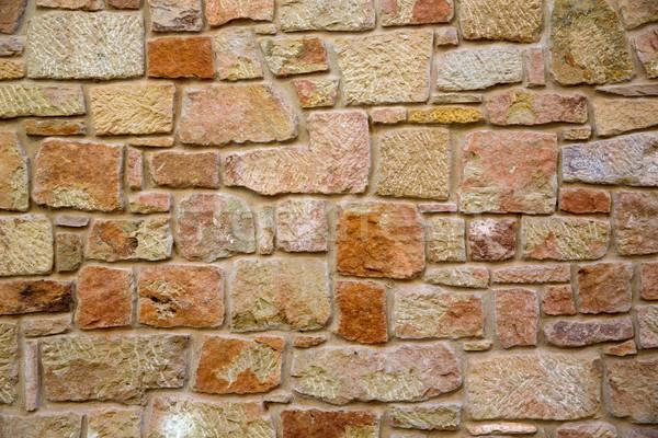 Maçonnerie murs Espagne maison texture mur Photo stock © lunamarina