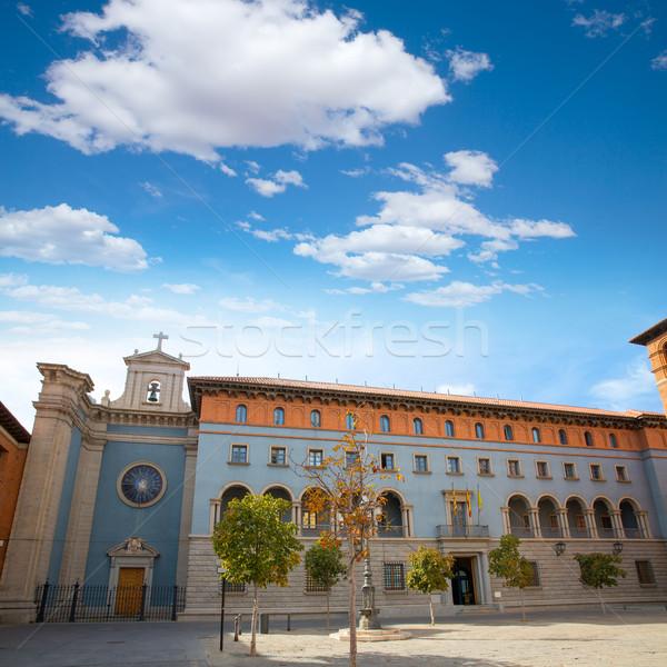 Aragon Teruel Archivo Historico Provincial Stock photo © lunamarina
