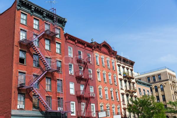 Ouest village New York Manhattan bâtiments bâtiment Photo stock © lunamarina