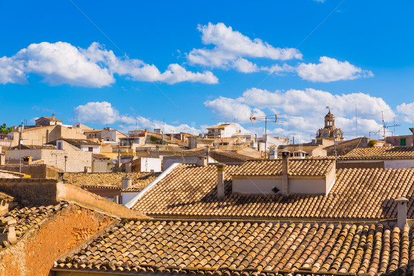 Alcudia Old Town in Majorca Mallorca Balearic Stock photo © lunamarina