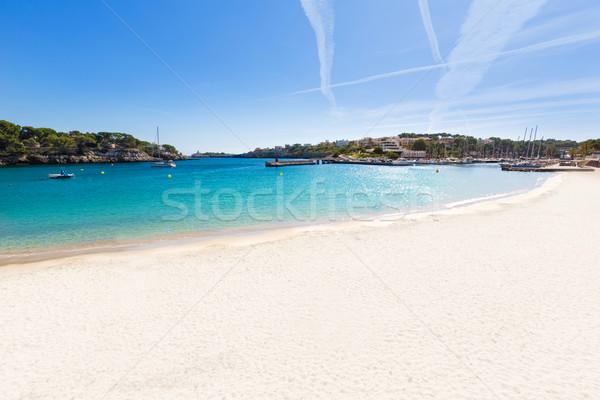 Foto stock: Praia · mallorca · ilha · Espanha · paisagem · oceano