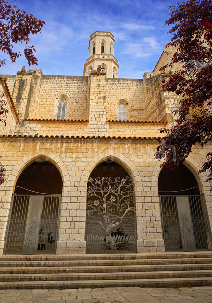 Figueres cathedral San Pere in Catalonia Stock photo © lunamarina