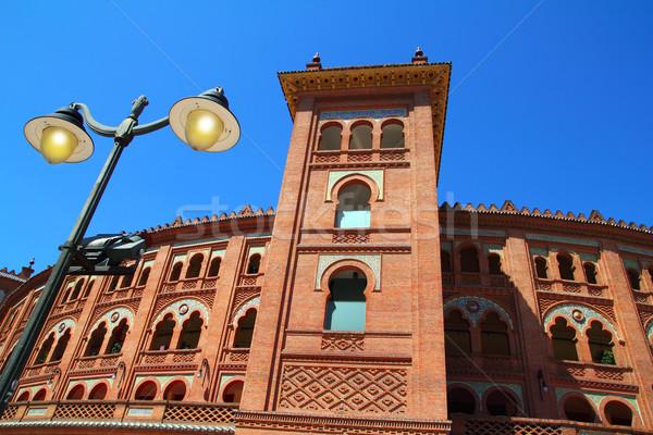 Madrid bullring Las Ventas Plaza toros Stock photo © lunamarina