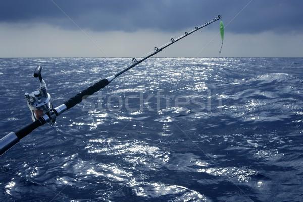 Stok fotoğraf: Büyük · oyun · tekne · balık · tutma · derin · deniz