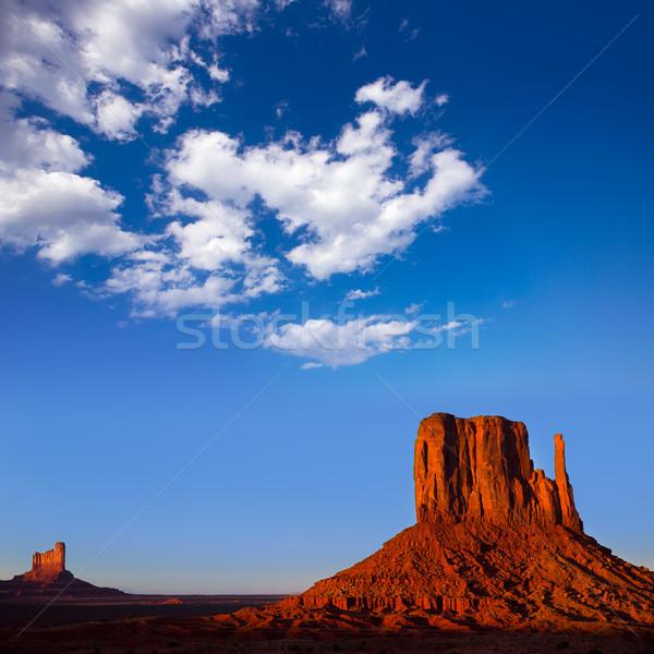 Monument Valley West Mitten Butte Utah Stock photo © lunamarina