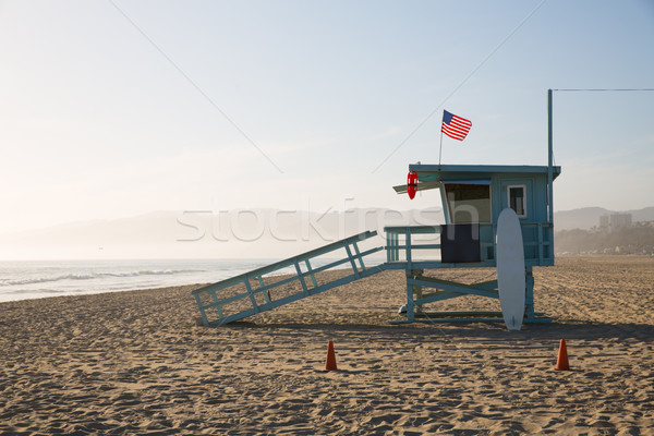 Photo stock: Plage · sauveteur · tour · Californie · USA