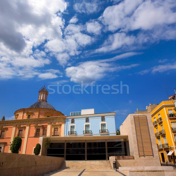 Валенсия центра собора базилика Испания кобыла Сток-фото © lunamarina
