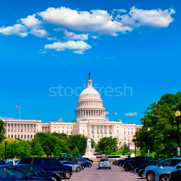Capitol building Washington DC USA Stock photo © lunamarina