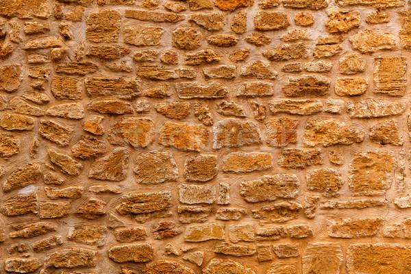 Duvarcılık duvar doku ada Stok fotoğraf © lunamarina