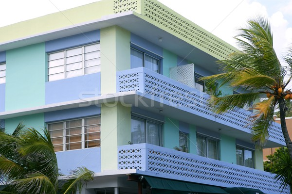 Miami South Beach Art Deco district Stock photo © lunamarina
