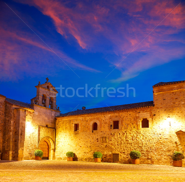 Caceres St Paul convent Spain Extremadura Stock photo © lunamarina
