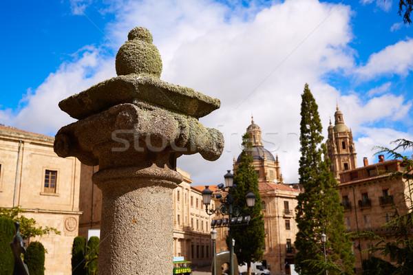 собора колонки подробность Испания способом Сток-фото © lunamarina