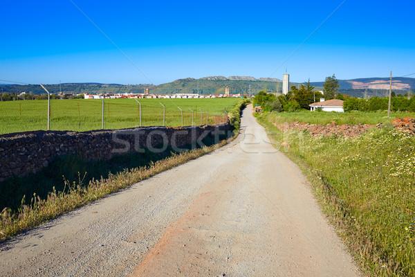 Santos de Maimona village Spain Extremadura Stock photo © lunamarina