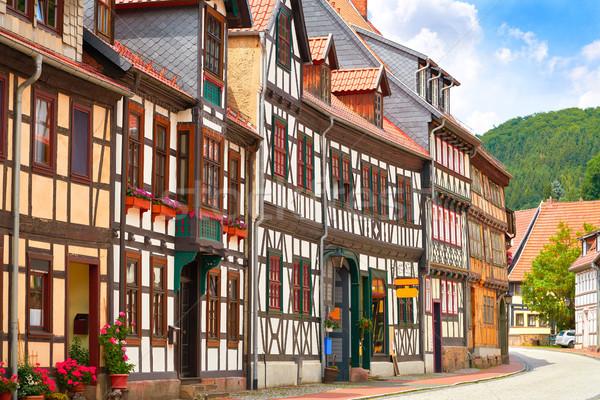 гор Германия здании синий путешествия Европа Сток-фото © lunamarina