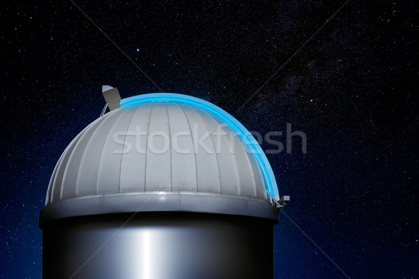 astronomical observatory dome night sky Stock photo © lunamarina