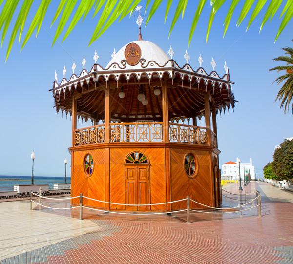 Arrecife Lanzarote Quiosco de la Musica circus Stock photo © lunamarina
