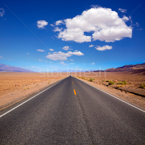 Badwater road Death Valley National Park California Stock photo © lunamarina